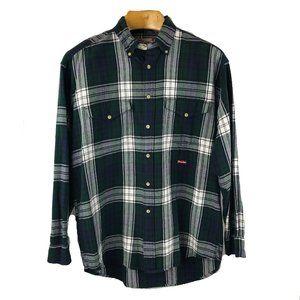 Tony Lama Plaid Shirt Cotton